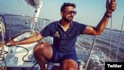 Abhilash Tomy, seorang komandan angkatan laut India (Foto: Courtesy).