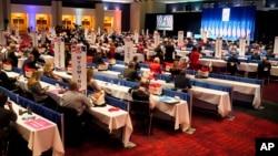 Respublikachilar qurultoyi Shimoliy Karolina shtatining Sharlot shahrida o'tmoqda