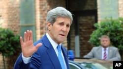Bộ Ngoại giao Mỹ cho biết Ngoại trưởng Kerry ngày thứ Bảy đã điện đàm với Bộ trưởng Ngoại giao Nga Sergei Lavrov.