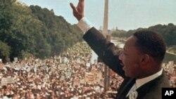 Dr. Martin Luther King Jr. ၁၉၆၃ ခုႏွစ္ ၾသဂုတ္လက ၀ါရွင္တန္ ဒီစီတြင္ မိန္႔ခြန္းေျပာ