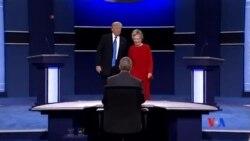 2016-09-27 美國之音視頻新聞: 川普和克林頓首場辯論針鋒相對
