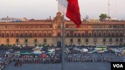 La marcha se organizó luego del secuestro de cuatro periodistas que fueron liberados por las autoridades.