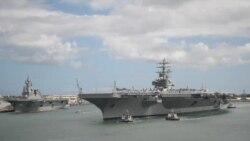 里根号航母启程常驻日本