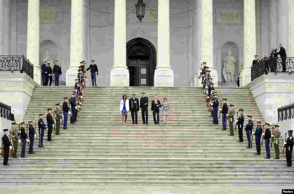 امریکہ: صدارتی تقریب حلف برداری کے لئے تیاریاں جاری