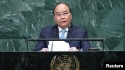 Ông Phúc tại Liên Hiệp Quốc.