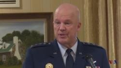 雷蒙德上将谈与盟国太空合作原声视频
