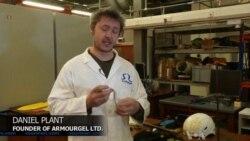 นักวิทยาศาสตร์อังกฤษผลิตวัสดุเทียมสอดใส่ไว้ในเสื้อผ้ารับแรงกระแทกป้องกันกระดูกแตกหรือร้าวได้