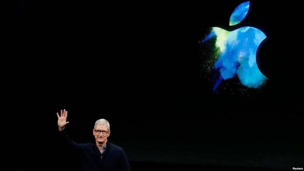CEO của Apple, ông Tim Cook.
