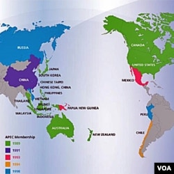 Zemlje, članice APEC-a