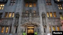 英國最高法院 (路透社照片)