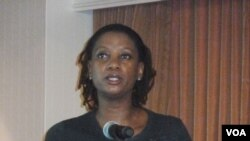 Lusanda Mahlasela, Deputy Director, Johns Hopkins Health & Education in South Africa. (De Capua)