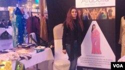 بھارتی ملبوسات کا اسٹال