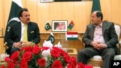 وزرای داخله ایران و پاکستان