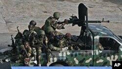 Des soldats ivoiriens