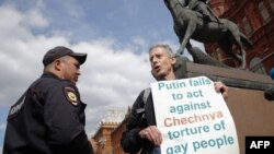 Питер Тэтчелл на Манежной площади