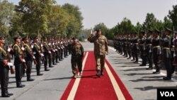 کابل: آمد پر گارڈ آف آنر