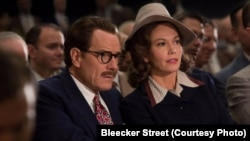 "FILE - A scene from the movie, ""Trumbo,"" with Bryan Cranston as Dalton Trumbo and Diane Lane as Cleo Trumbo."