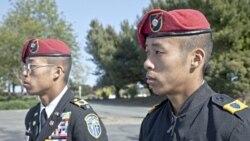 جوانان آسیایی تبار آمریکایی در ارتش