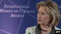 Клінтон відкрила 100-ту річницю Міжнародного жіночого дня