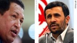 هوگو چاوز وارد تهران شد