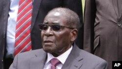 Robert Mugabé, président du Zimbabwé