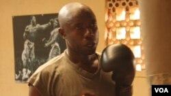 우간다 시각장애 권투선수 화제