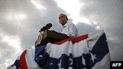 Predsednik Obama proveo je prvu polovinu nedelje na turneji po srednjem zapadu.