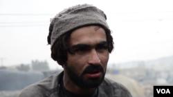بلوچستان کې د ډبرو سکرو د کان افغان کارګر