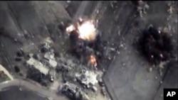 روسی بم حملہ