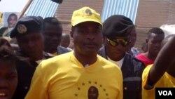 Abel Chivukuvuku em Malanje