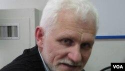 """白俄羅斯人權組織""""春天""""領導人別里亞茨基。"""