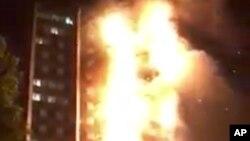Vụ cháy chung cư ở London làm 6 người chết hôm 14/6/2017