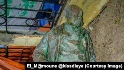 La statue de Louis Faidherbe, l'ancien gouverneur colonial français du Sénégal (1818-1889). El_M@moune @kissdieye