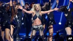 Britney Spears au Festival de Musique iHeartRadio 2016, le 24 septembre 2016 à Las Vegas.