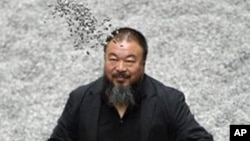 中国艺术家艾未未(资料照片)