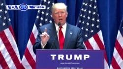Ông Trump muốn dùng tiền thuế xây tường biên giới (VOA60)