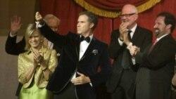 بازیگر نقش جورج بوش جایزه بهترین کمدین سال آمریکا را به دست آورد