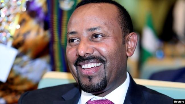 资料照:埃塞俄比亚总理阿比·艾哈迈德·阿里