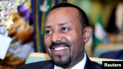 Minisitiri w'intebe wa Etiyopiya Abey AHmed