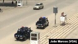 Presença policial em Benguela, Angola