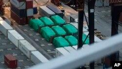 新加坡陸軍裝甲車星期五離開香港。