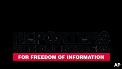 Logo de Reporters sans frontières.