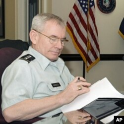 Lieutenant General Ronald Burgess, US Defense Intelligence Agency Chief