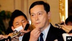 사이키 아키타카 일본 외무성 사무차관 (자료사진)