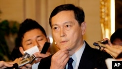 Japan's Vice Foreign Minister Akitaka Saiki (file)