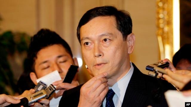Japan's Vice Foreign Minister Akitaka Saiki (file)