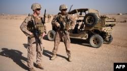 Para tentara AS yang bertugas di pangkalan Lashkar Gah, Afghanistan (foto: dok).