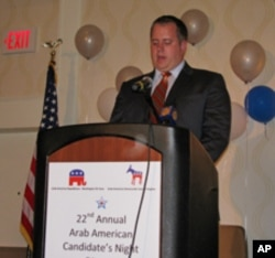 Republican Robert Gasiewicz expressed support for the building of an Islamic cultural center in New York City.
