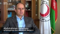 Aid Delivery to Afghanistan Earthquake Victims