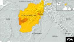 阿富汗的地理位置
